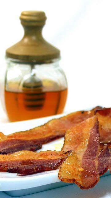 Honey Chipotle Glazed Baked Bacon