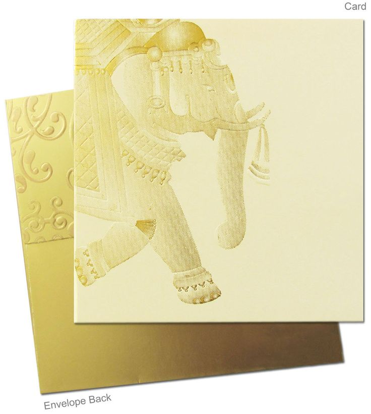 This exclusively designed invitation card is now available on www.regalcards.com