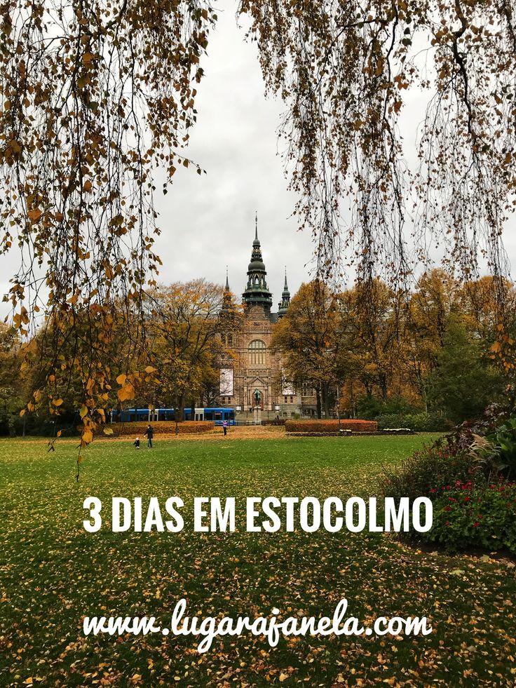 Sobre a minha viagem à capital da Suécia