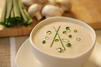 Рецепт картофельного супа пюре с грибами