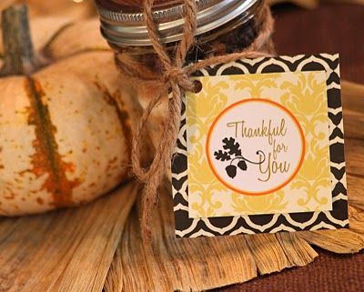 fall gift tags...free download