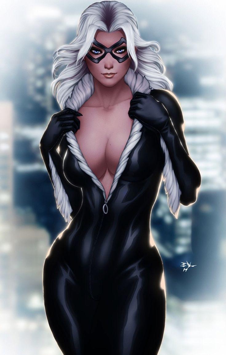 black cat marvel - 713×1120
