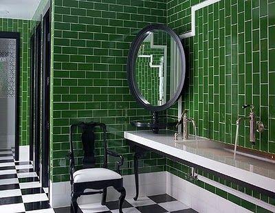 Google Image Result for http://2.bp.blogspot.com/-t3omlivl7RQ/TgFeULXyKCI/AAAAAAAAAMA/X0QPkMhcQ08/s640/27__kelly_wearstler_green_bathroom.jpg
