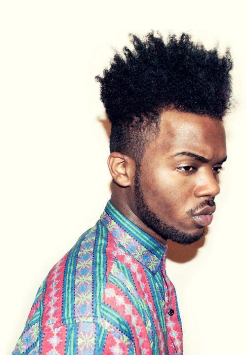 mequetrefismos black undercut corte afro masculino 1