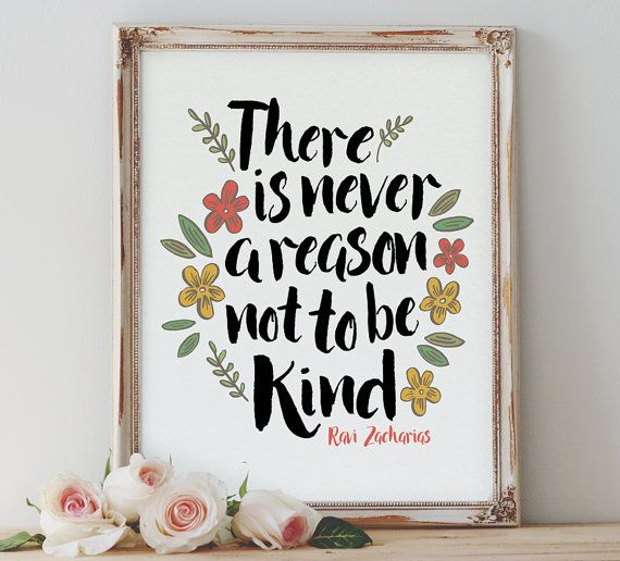 Never A Reason download, Printable Quote, Inspiring Art, typography design, Faith Art, christian home art, Ravi Zacharias quote