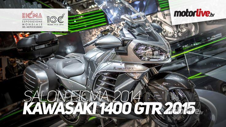 NEW 2015   SALON MILAN EICMA   KAWASAKI 1400 GTR 2015