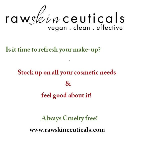 Did you know that RawSkinCeuticals carries Cosmetics? From BB Cremes and cheek color to mascara and shimmering Lip gloss you can get all you need at www.rawskinceuticals.com or click shop now! While you are visiting don't forget to sign up to become a Premier Customer! #cosmetics #beauty #bbcreme #mascara