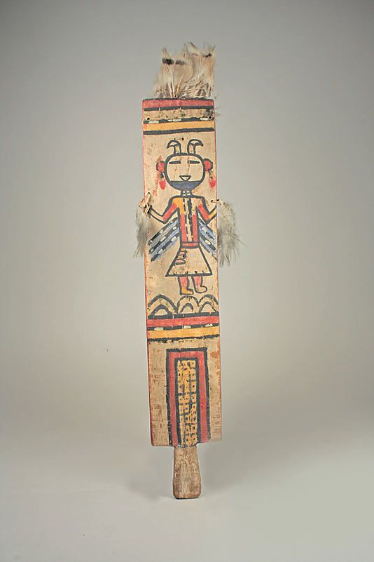 Dance Wand (Manayawi), 19th–20th century. Hopi (United States, Arizona). The Metropolitan Museum of Art, New York. The Michael C. Rockefeller Memorial Collection, Bequest of Nelson A. Rockefeller, 1979 (1979.206.952) #dance