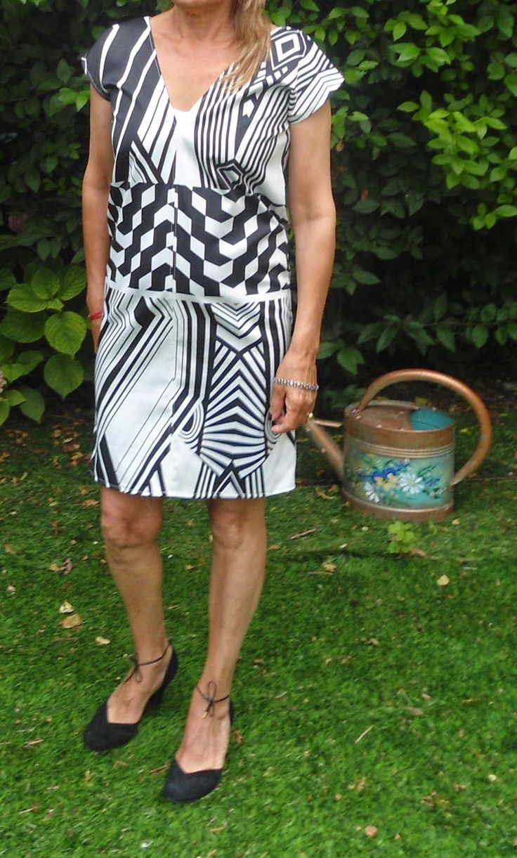 Bettinael.Passion.Couture.Made in france: Robe facile à faire, C'est juste 4 rectangles