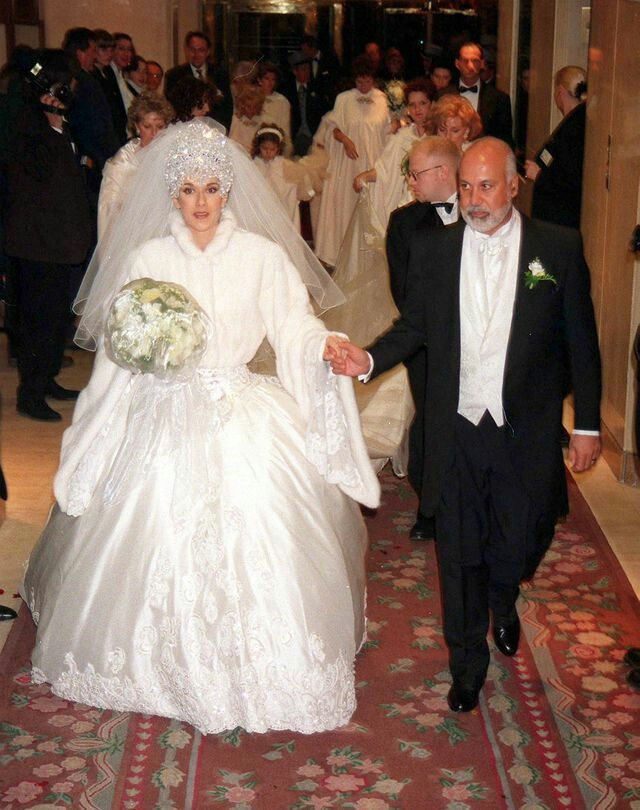 4e5bf8d17a72 Pin by Autumn on celine dion and rene angelil wedding in 2019 ...