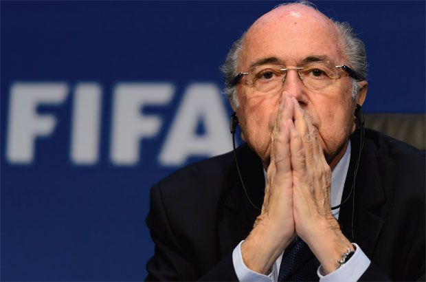 """#SeppBlatter announced in June, following the indictment of 14 football officials and sports marketing executives, that he would """"give back his mandate"""" at a special elective congress on Feb. 26 