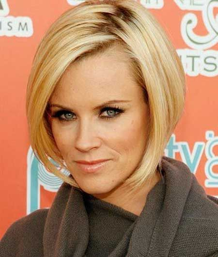 25 Charming Celebrity Short Haircuts:  #24. Jenny Mccarthy's Fabulous and Gorgeous Bob Hair