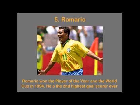 10 Best Brazilian Soccer Players Ever - YouTube