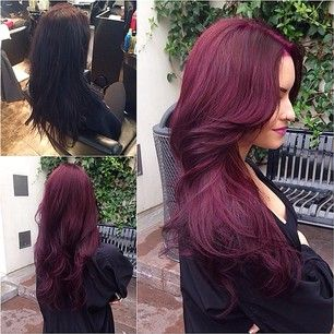 Love this hair color, wish my job would allow me to do this to my hair