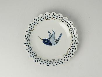Kyoko Hayashi bird plate