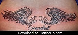 male angel tattoo designs by angeltattoo, via Flickr
