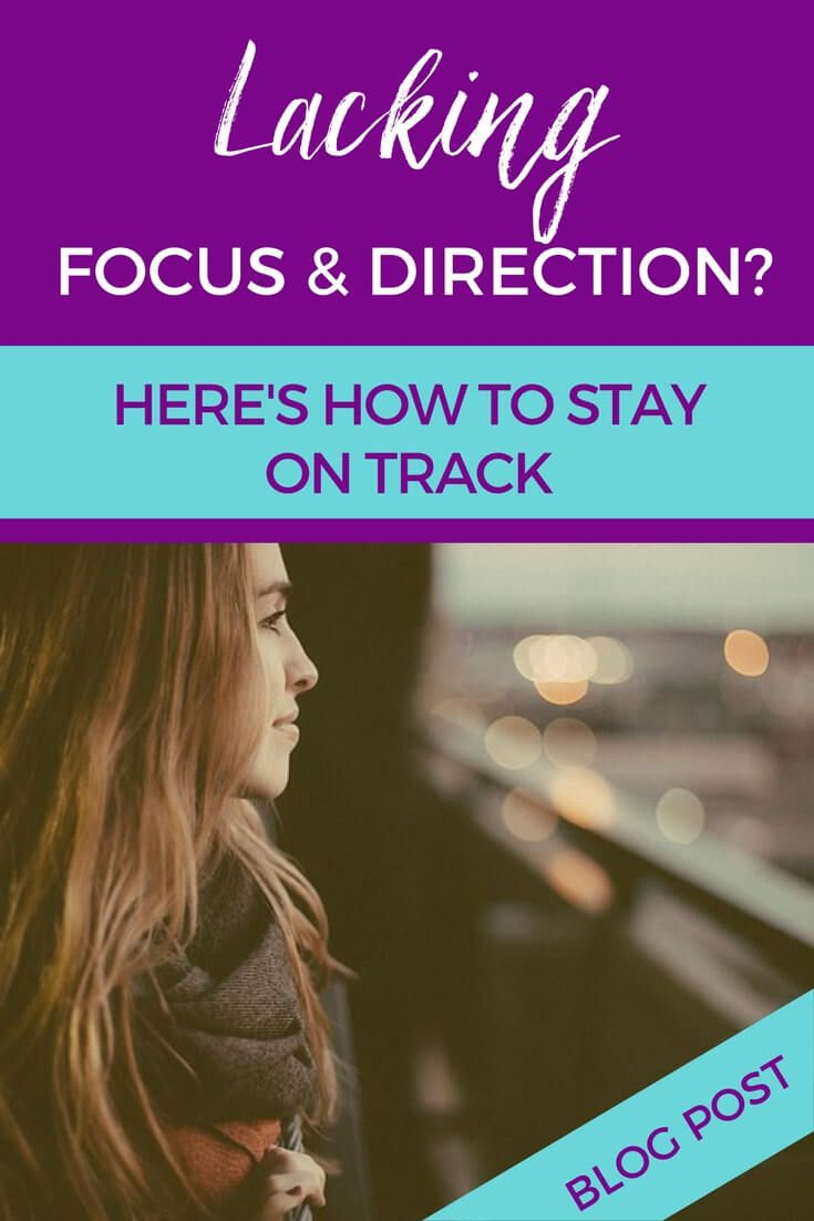 Lacking focus and direction? Here's how to stay on track http://screwthecubicle.com/lacking-focus-and-direction