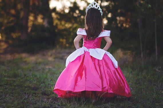 Dormir belleza vestido / disfraz de Disney Princesa Aurora /