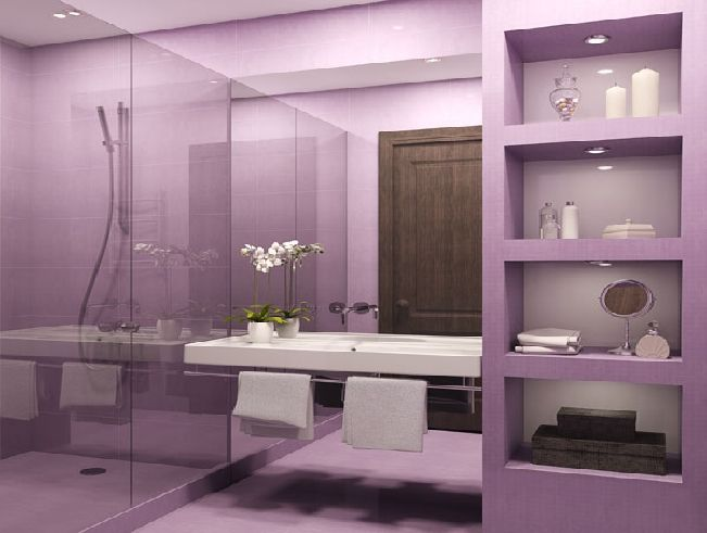 Best Purple Bathroom Accessories Ideas On Pinterest Purple - Purple bathroom decor for small bathroom ideas