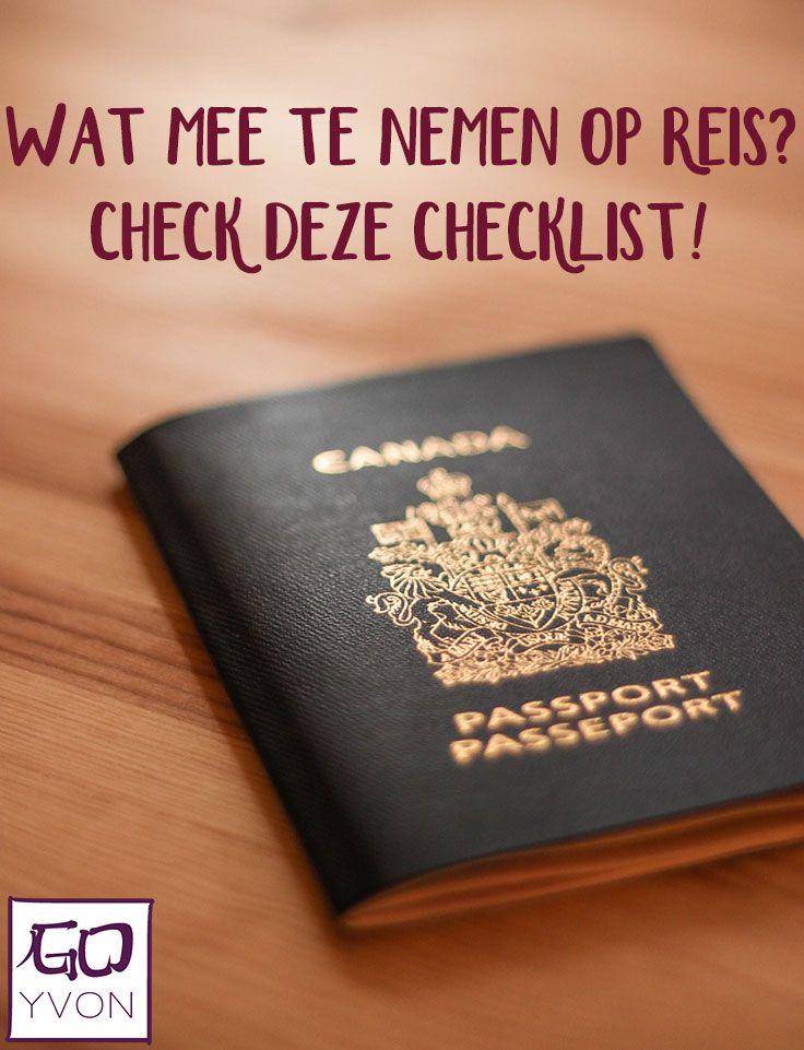 Met deze reisbenodigdheden checklist ga je goed voorbereid op reis. In dit artikel lees je wat er mee moet op reis én wat ik zoal meeneem op reis.