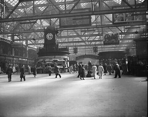 Glasgow Central Station, 1950s