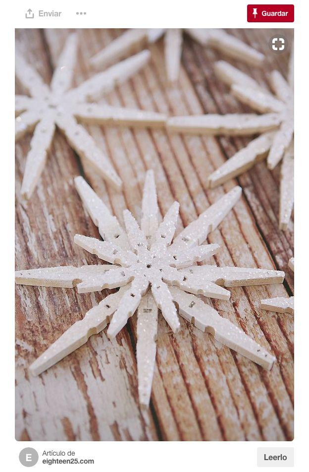 S calas del tendedero awesome ideas manualidades for Navidad adornos manualidades navidenas