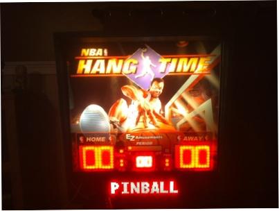 Hangtime Pinball backglass - COMPLETE!