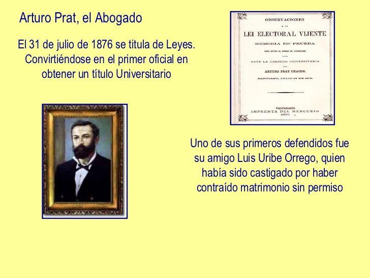 Presentacion Arturo Prat Chacon Para Ninos Titulo Universitario Escuela Naval Capitan De Corbeta