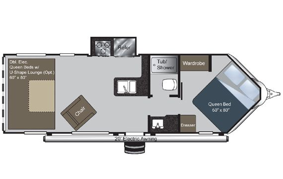 Image result for Cargo Trailer Conversion Floor Plans                                                                                                                                                                                 More