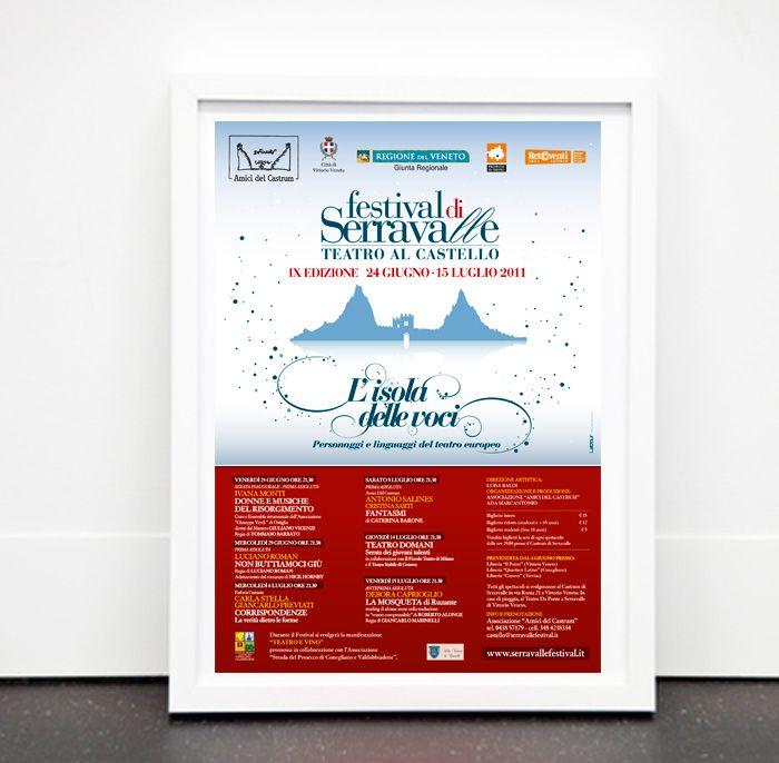 FESTIVAL DI SERRAVALLE 2011 Manifesto rassegna