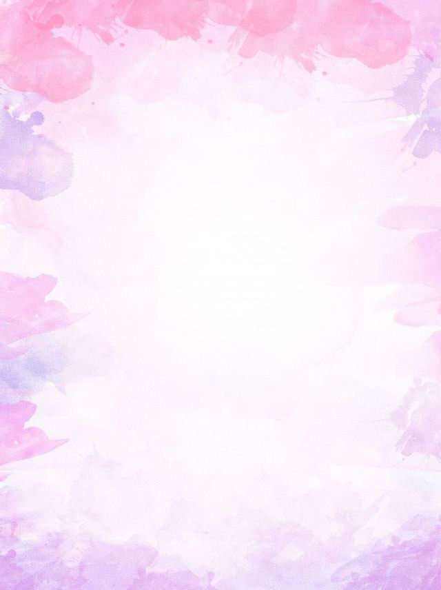 Pure Pink Purple Watercolor Gradient Background In 2020 Pink