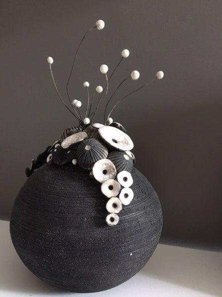 Sylvie SOUTON-CHANY, Keramikerin – Kunstgalerie Cad 24480 Cadouin im Périgord