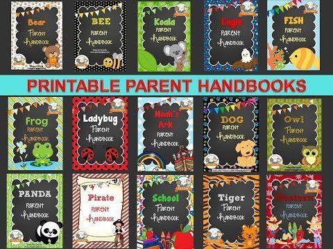Parent Handbook FAQ's for Preschool Pre-K and Kindergarten