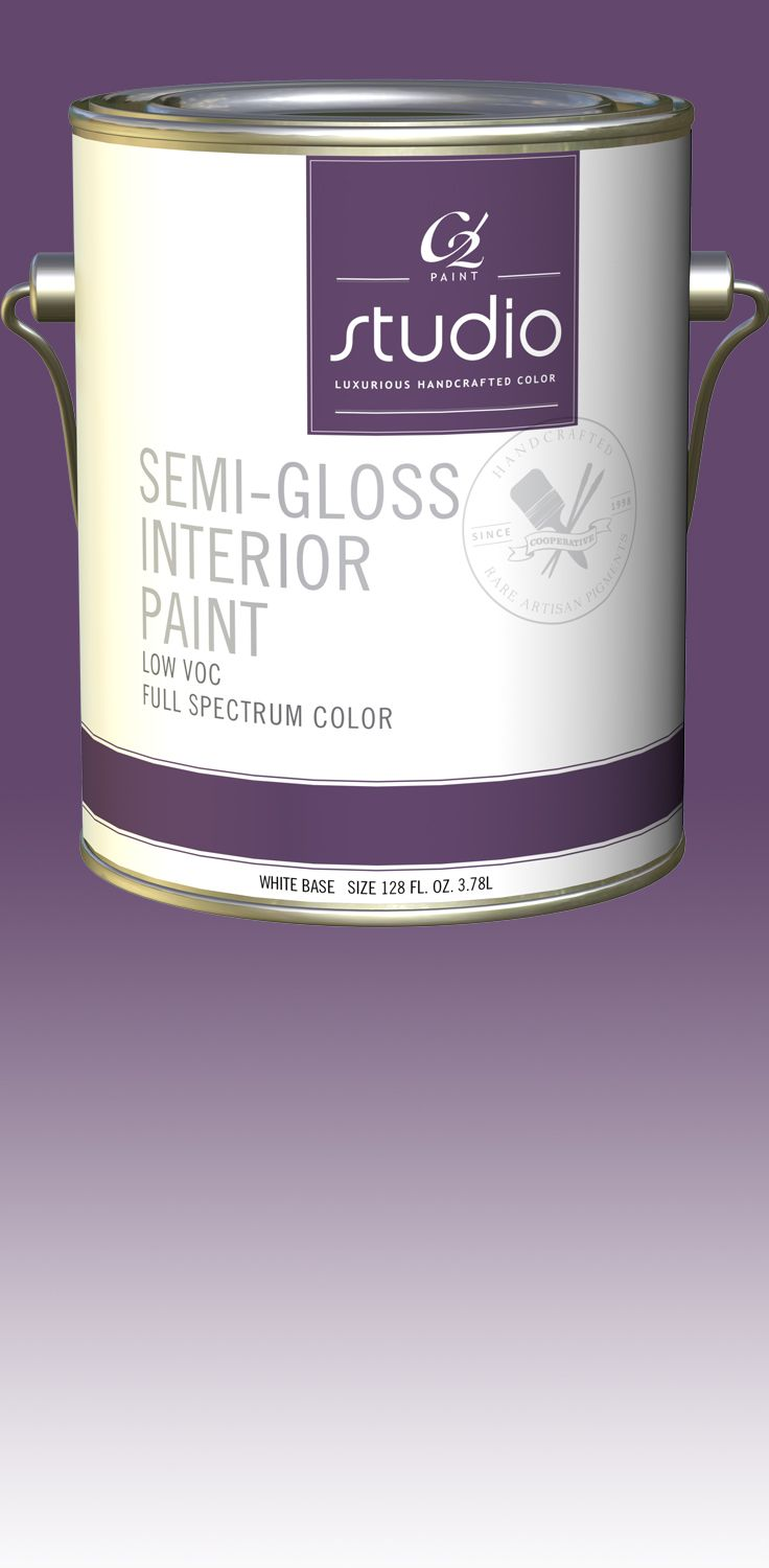 Good levelling good coverage good washability excellent hiding low - C2 Studio Interior Latex Semi Gloss C2400 Is Designed For Application In High