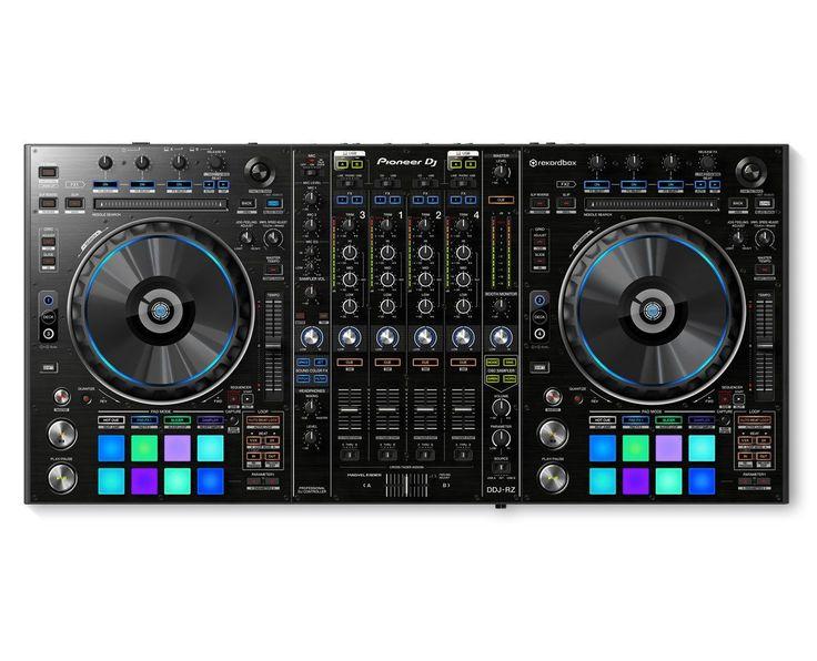 Pioneer DDJ-RZ 4-Channel RekordBox DJ Controller w/ Dual USB & Sampler