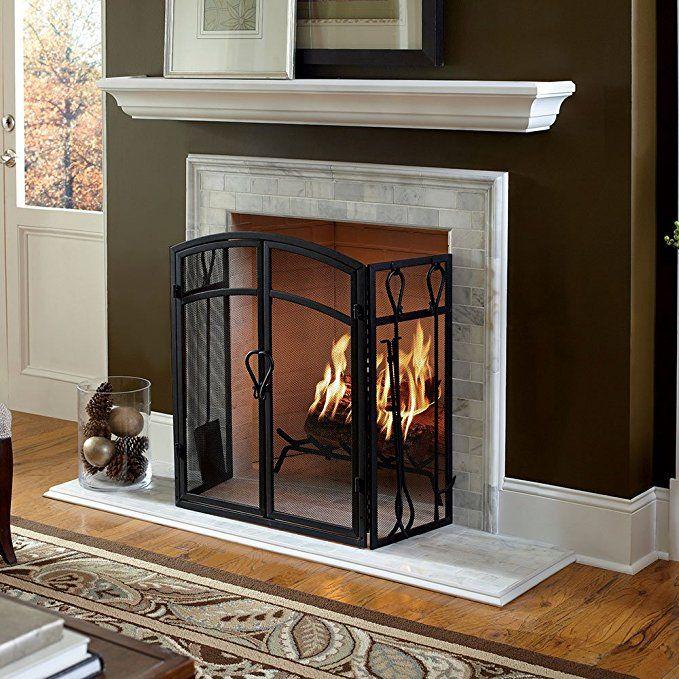 Colton 60 Inch Fireplace Mantel Shelf White Fireplace Mantel Decor Brick Fireplace Mantles Fireplace Mantel Shelf