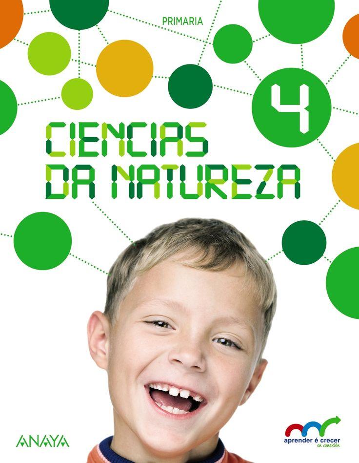 Ciencias da Natureza 4 (cuarto de primaria) en galego Anaya Galicia  978-84-678-8017-5