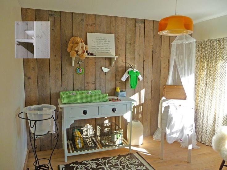 muur (klein muur tussen hal en woonkamer) eventueel in lichtere kleur ...
