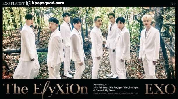Fakta EXO Rilis Foto Grub untuk 'The ElyXiOn', Serba Putih Bak Malaikat