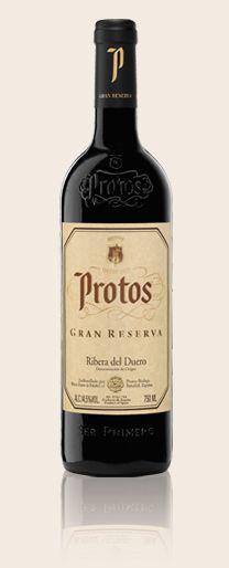 Bodegas Protos. Vinos. Gran Reserva.