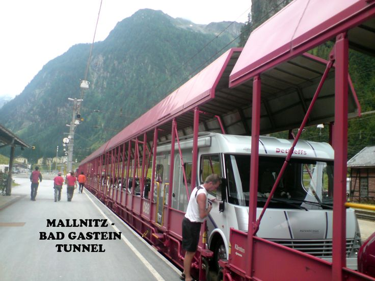 Tauern Tunnel btwn Mallnitz and Bad Gastein, Austria