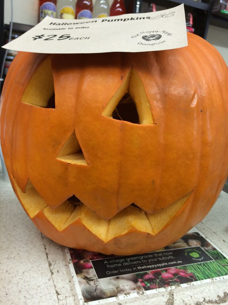 Halloween pumpkins are NOW available | The Happy Apple
