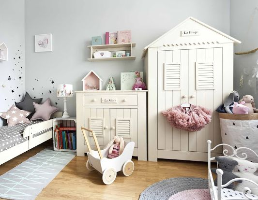 Charming #mediterranean nursery which could be easily converted to Junior even teen room. see more at http://funique.co.uk