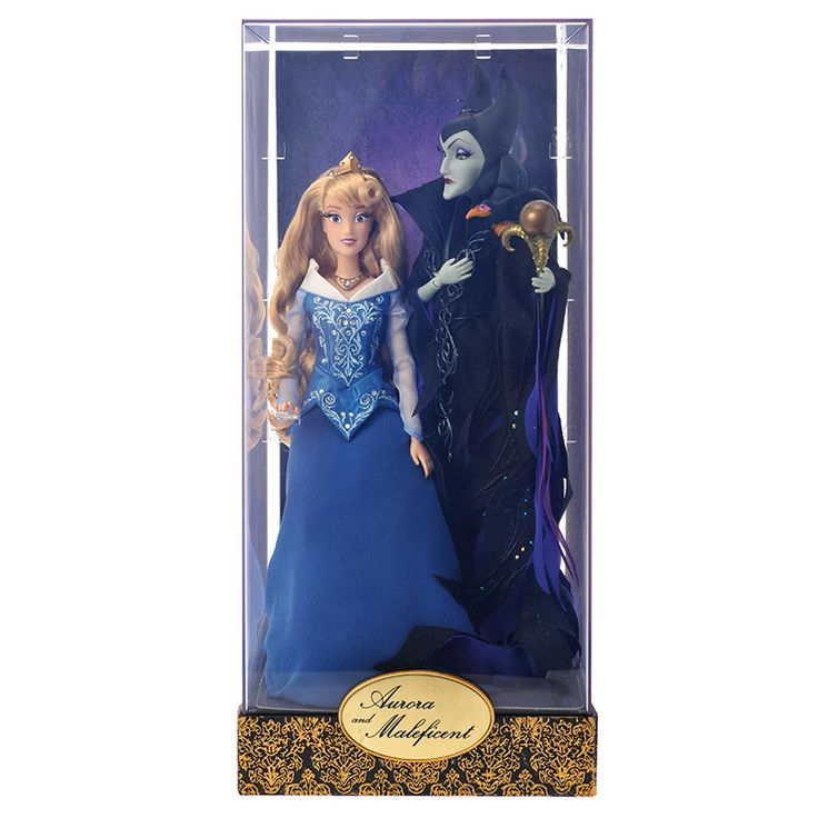 Coming October 18, 2016 Aurora and Maleficent. Disney Designer Dolls