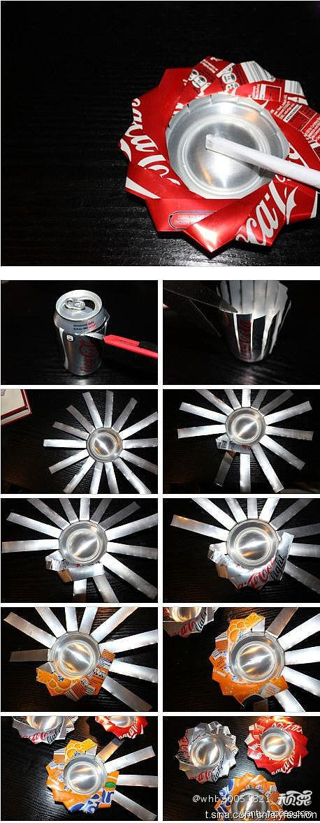 DIY Pop Can Ashtray DIY Projects | UsefulDIY.com