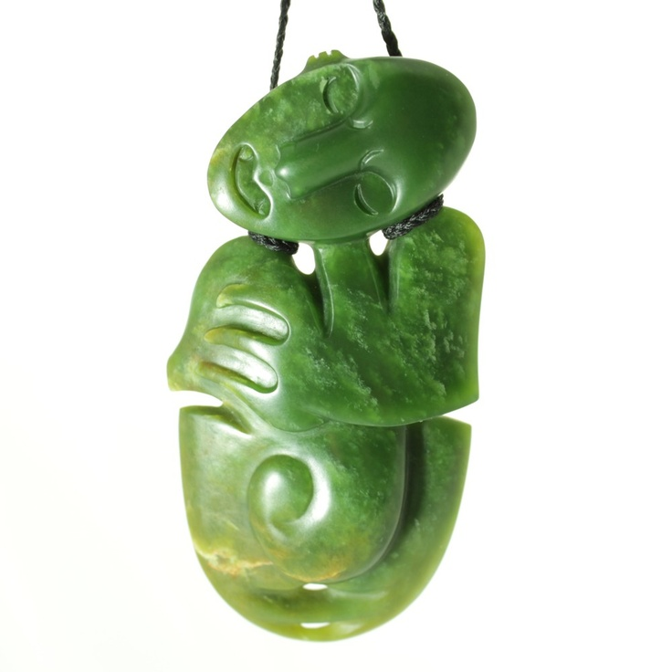 Iwi Art Store - Contemporary hei tiki pounamu (LG46), $1,200.00 (http://www.iwiart.co.nz/contemporary-hei-tiki-pounamu-lg46/)    One day, when I win lotto...