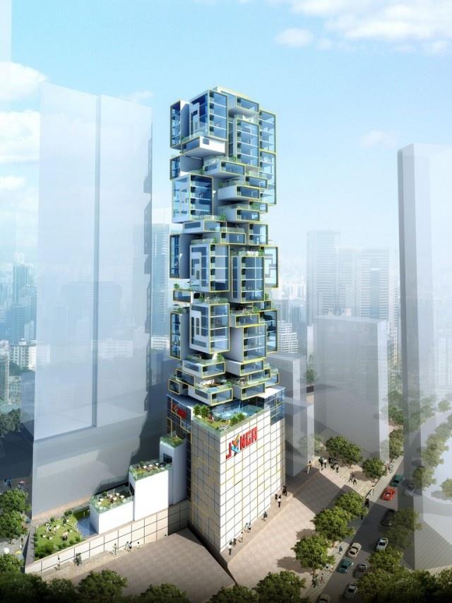 James Law Cybertecture International | Jenga Tower