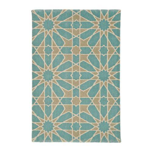 DOFTRIK Teppe, kort lugg IKEA Teppet er laget av ull, et naturlig flekkbestandig og slitesterkt materiale.