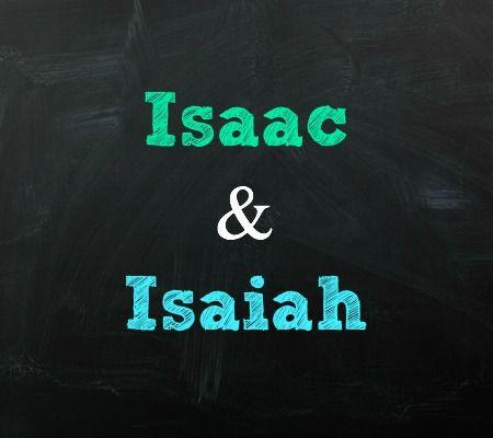 Isaac and Isaiah Jewish Twin Baby Names | Disney Baby