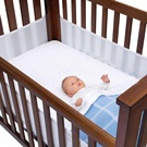 Airwrap 4 Sided Cot Bumper System - cot bumpers have been linked to safety issues for babies - this is one that addresses them.